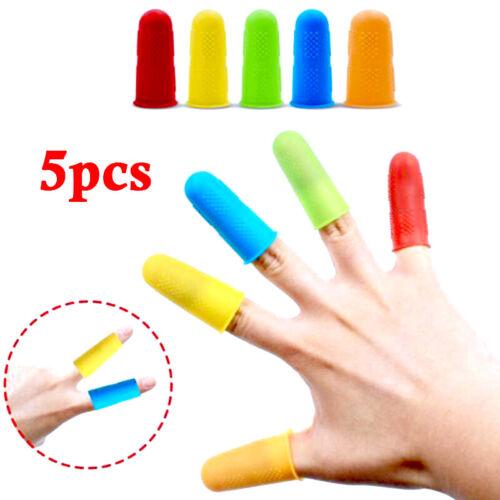 Rubber Thumb Finger Tips Protection Grip Student Craft-work Hot Glue Gun Burns