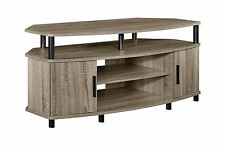 Altra Carson 50 Corner TV Stand Sonoma Oak Distressed Gray Oak