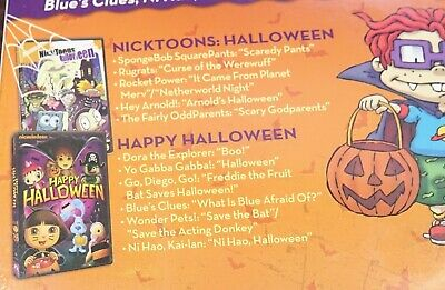 Nickelodeon Nicktoons Halloween & Happy halloween DVD 2 Pack COLLECTION  32429203632 | eBay