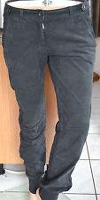 très joli pantalon gris en velours femme NAPAPIJRI Taille 42- W32