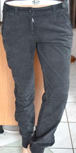 Pantalon velours ᄄᆭlᄄᆭganttaille femme trᄄᄄs 42W32 Napapijri en gris 54LqcjR3A
