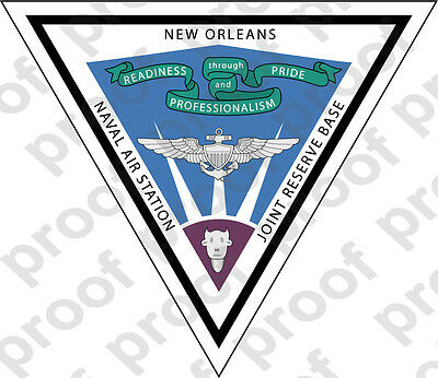 Sticker Usn Nas New Orleans Ebay