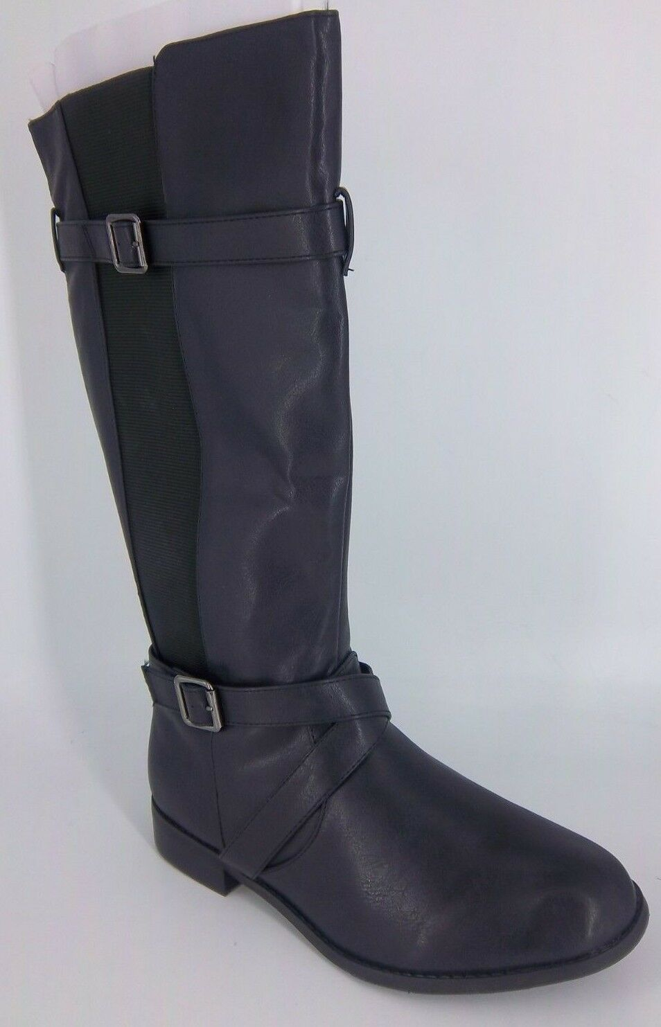Le vôtre Knee High bottes's Extra Large Fit noir Taille UK 6 EU 39 NH181 SS 03