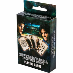 Supernatural-Playing-Cards-Deck-NEW-Sam-Dean-Winchester-Join-The-Hunt