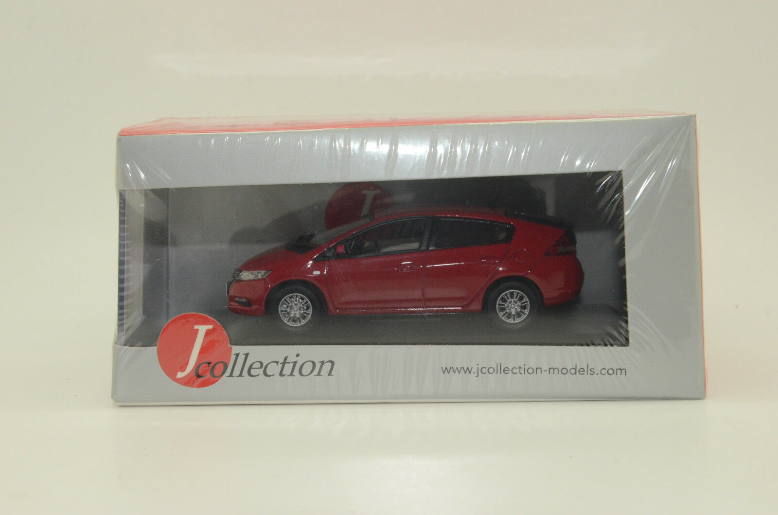 Honda Insight 2010 Red J-Collection JC206 1 43
