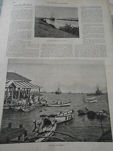 1899 Article De Presse Extreme Orient Colombo Vue De Kaudy