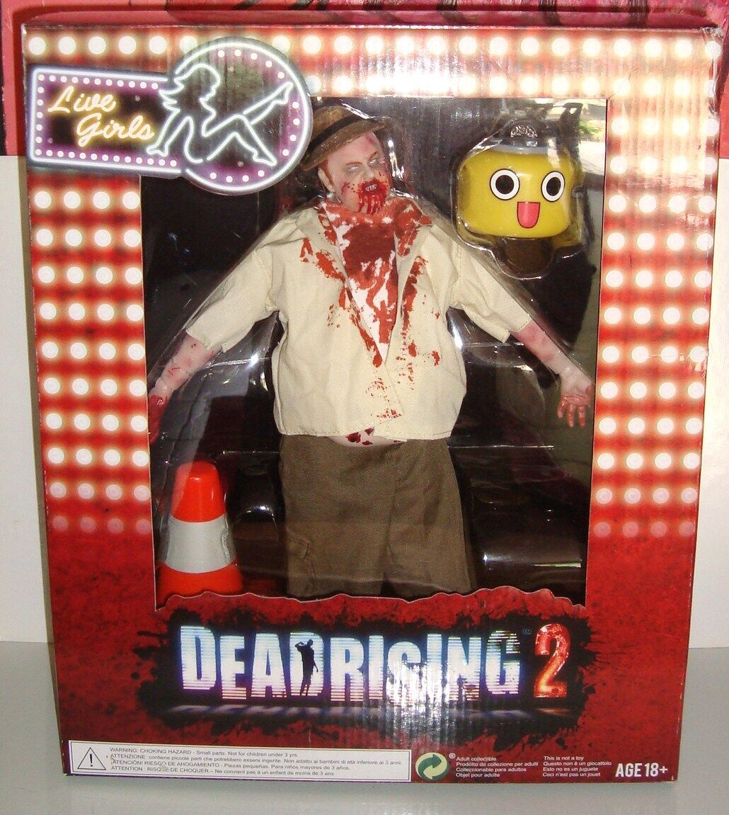 GRANDE FIGURINE MORT VIVANT DEAD RISING 2 EN BOITE BOXED (30x22cm)