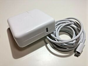 Genuine APPLE A1718 MacBook Pro 61W USB-C Power Adapter Charger Grade A+