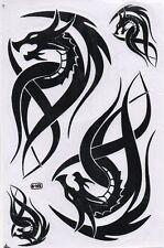 N-088 Drachen Dragon Aufkleber Sticker 1 Bogen 27 x 18 cm Racing Tuning