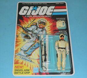 RECARDED-1983-GI-Joe-Snow-Job-v1-Figure-Complete-Sealed-CUSTOM-File-Card-Back