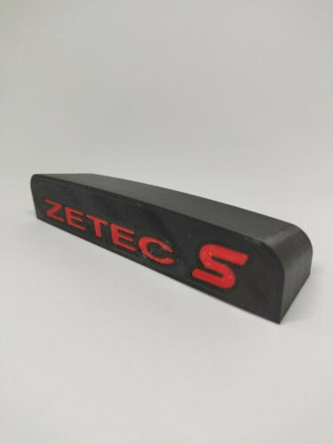 FORD FIESTA ST ZETEC S MK7 ST180 Cubby Foro Filler interni BADGE Accessorio