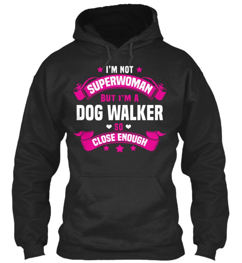 One-of-a-kind Dog Walker-je Ne Suis Pas Superwoman Mais Un Standard College Sweat à Capuche