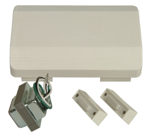 Single Chime White Craftmade C105L Builder Compliant Door Chime Kit