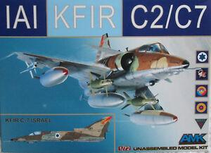 AMK-Avant-Garde-1-72-AMK86002-IAI-Kfir-C2-C7-Model-kit