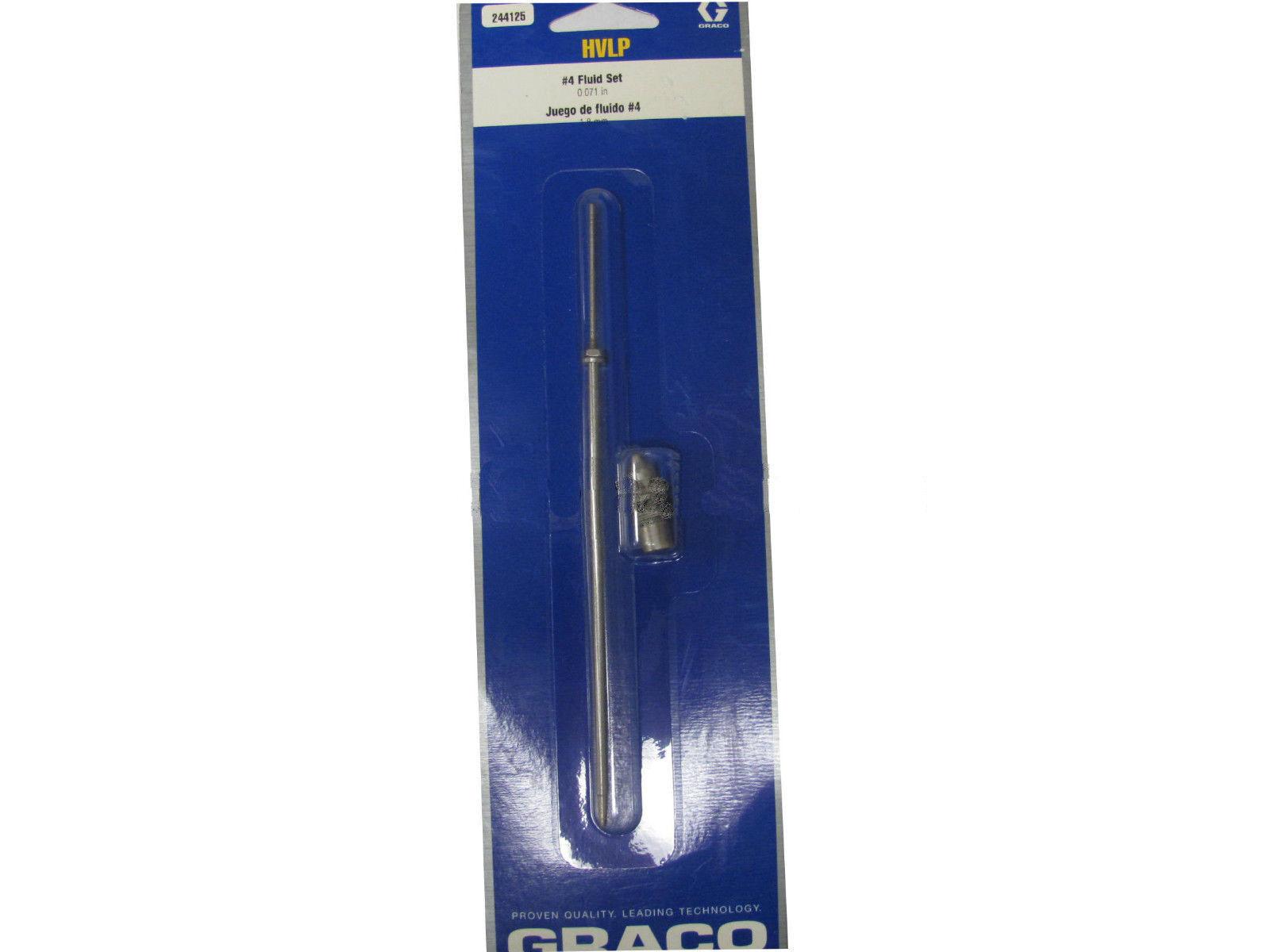 Graco HVLP Turbine Gun Fluid Set