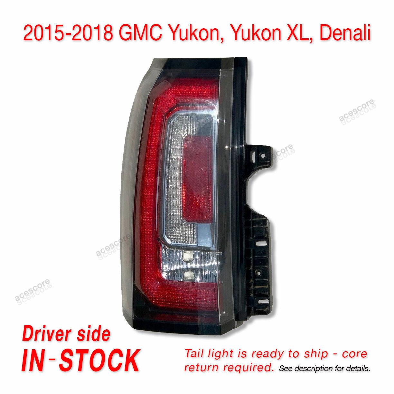Tail Light Assembly Compatible with 2015-2018 GMC Yukon//Yukon XL CAPA Driver Side
