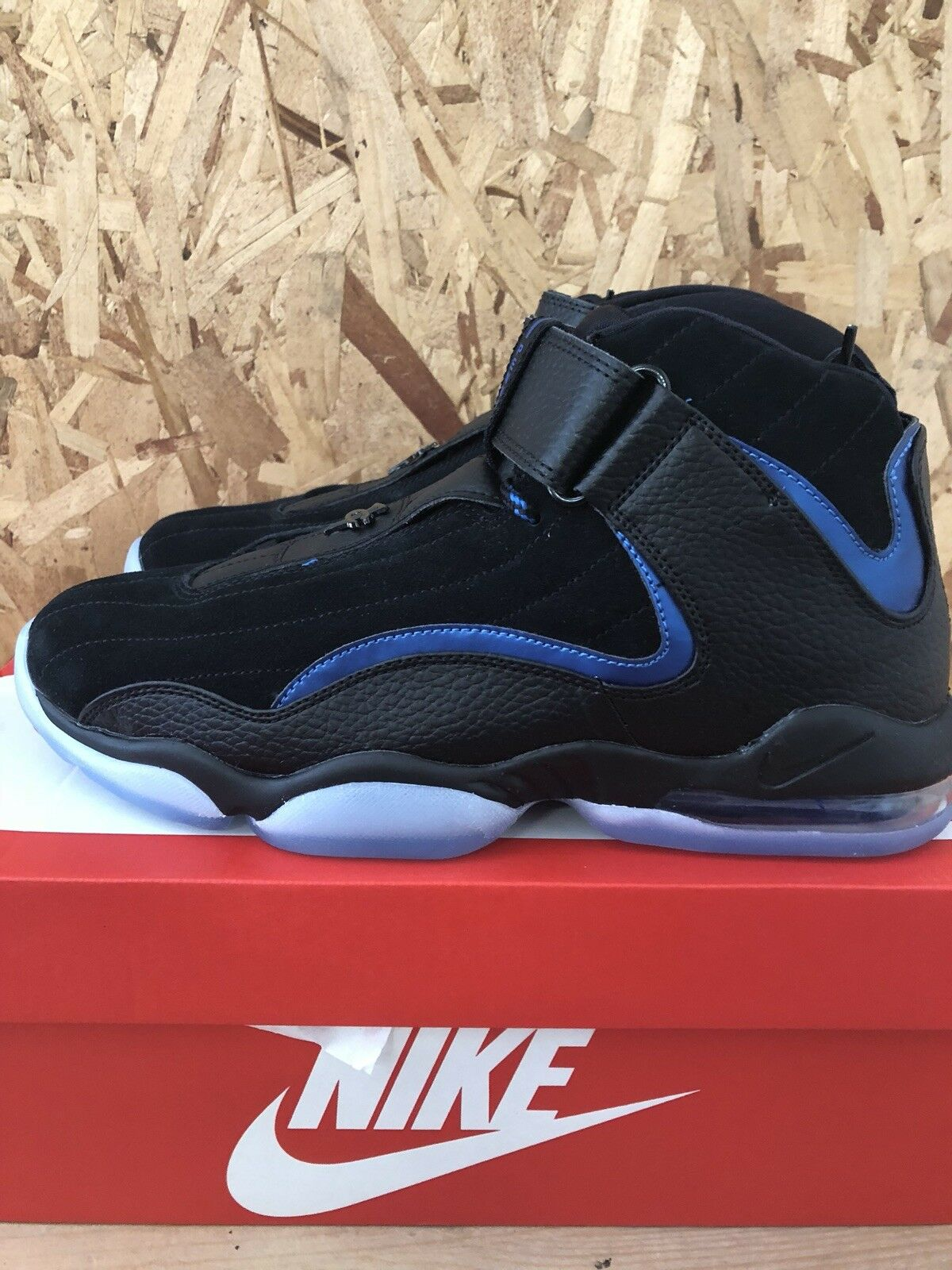 Nike - Air Penny IV - Black   Black Size 9 NEW bluee