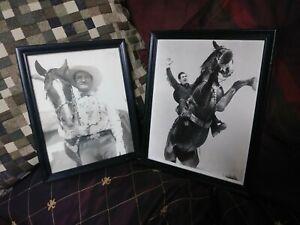 Vintage Hollywood Photos Movie Cowboys Wonder Horses Western Photographs Mix?