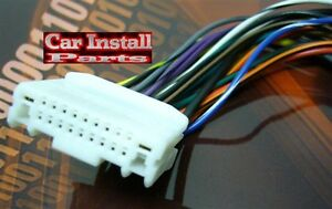 s l300 oem stock radio plug for nissan wire harness (select) 2007 2011 ebay  at gsmx.co