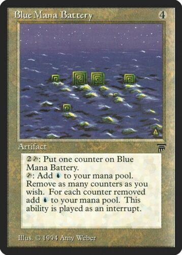 Blue Mana Battery Legends NM-M Artifact Uncommon MAGIC GATHERING CARD ABUGames
