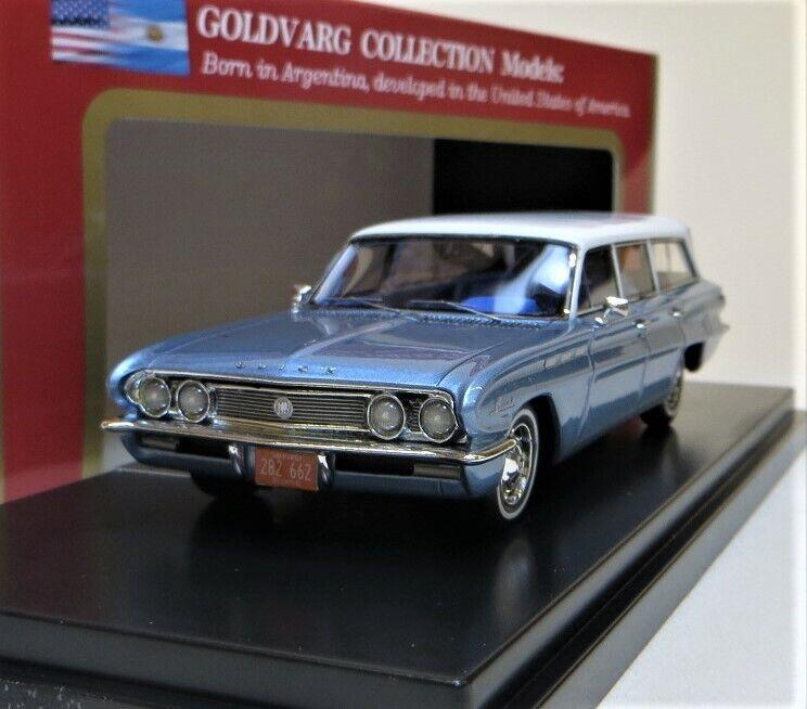 GoldVARG 1 43 1962 BUICK speziell STATION Auto, Blau. HANDBUILT. LTD  200 BNIB