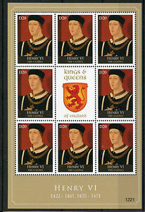 Gambia 2012 MNH Kings & Queens of England Henry VI 8v M/S Royalty Stamps