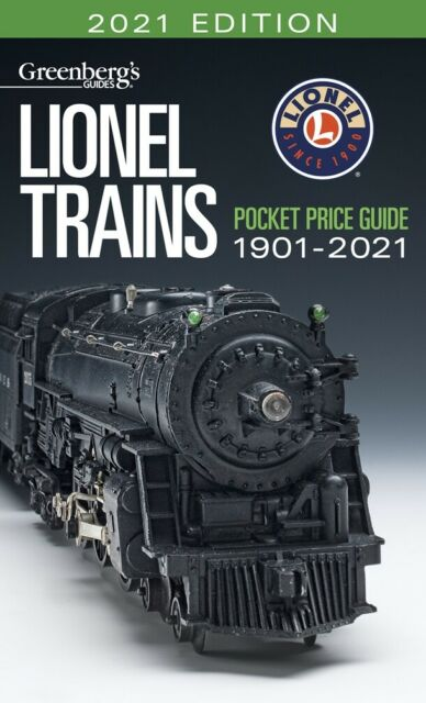 Lionel 2021 Pocket Price Guide Greenberg Brand New Great Reference