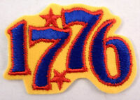 1776 Uniform Patch Has A Sticker Gauze Backing