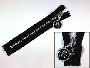 YKK NO 5# Brass Zip Zipper Closed End Metal Heavyweight Jacket Puller 20cm DIY