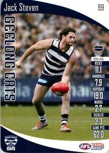 New-2020-GEELONG-CATS-AFL-Card-JACK-STEVEN-Teamcoach