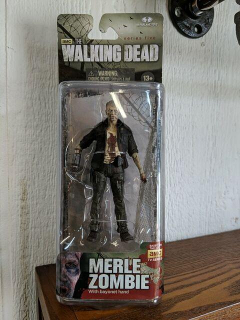 "Walking Dead Zombie Merle 6"" Figure Macfarlane AMC TV Series 5 New Mint MOC"