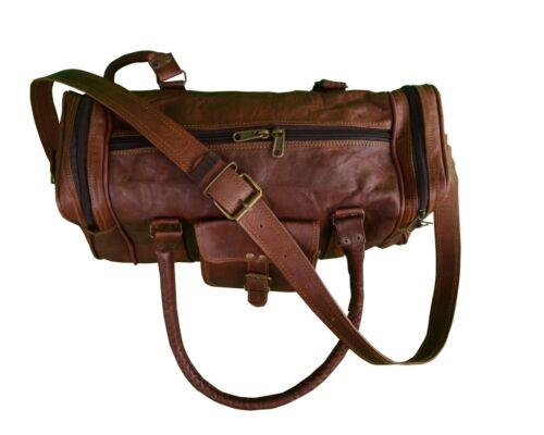 "30/"" Newly Big Large Duffel Bag Travel Gym Sports Overnight Weekend Leather Bag"