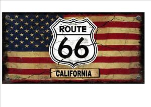 California Shipping Vintage Look Reproduction Metal Sign