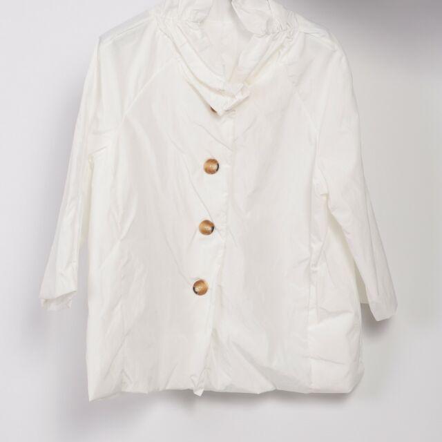 Giacca donna giaccone estivo impermeabile piumino manica 34