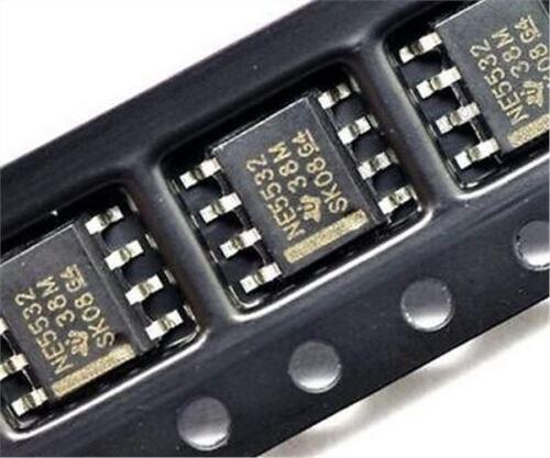 15 Stücke NE5532 N5532 SOP-8 Smd Dual Rauscharmer Op-Amp Ti vx
