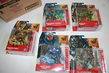 Transformers  Deluxe Class age of extinction SET OF 5 FIGURES