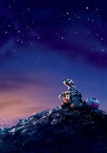 WALL-E-Movie-PHOTO-Print-POSTER-Textless-Film-Art-Andrew-Stanton-Monsters-Inc-08