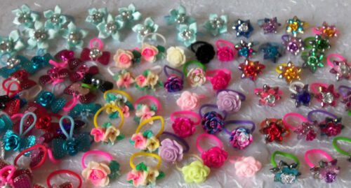 Littlest Pet Shop LPS RANDOM Lot of 10 Custom Hair Bow Accessories         #11