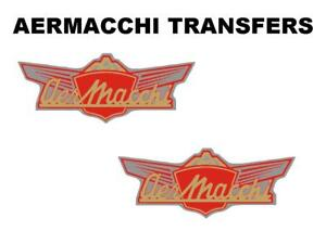 Aermacchi-Tank-Transfers-and-Decals-Motorcycle-Blue-Sold-as-a-Pair