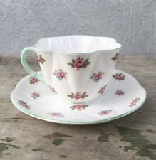 Shelley England Dainty Shape Rosebud 3-Piece Place Setting AND Separately Pattern 13426