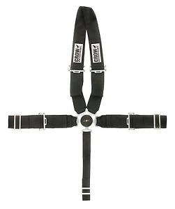 CROW Safety PRO COMP DRAGSTER TYPE ROTARY KAM LOCK 5 POINT HARNESS