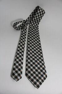 Vintage-THE-CUSTOM-SHOP-NECKTIE-PLAIDS-amp-CHECKS-PATTERN-MEN-039-S-TIE-55-034-x-4-034