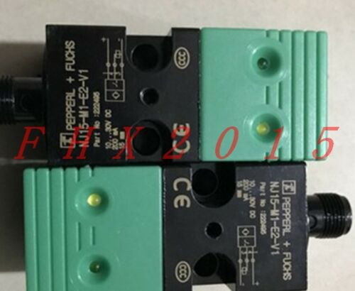 Fuchs NJ15-M1-E2-V1 Inductiver Sensor ONE NEW Pepperl