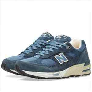 Scarpe New Balance M 991 Dusty Blue uk 7