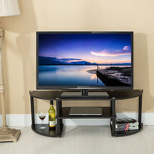 Entertainment Center Tv Stand Console Wood Media Furniture