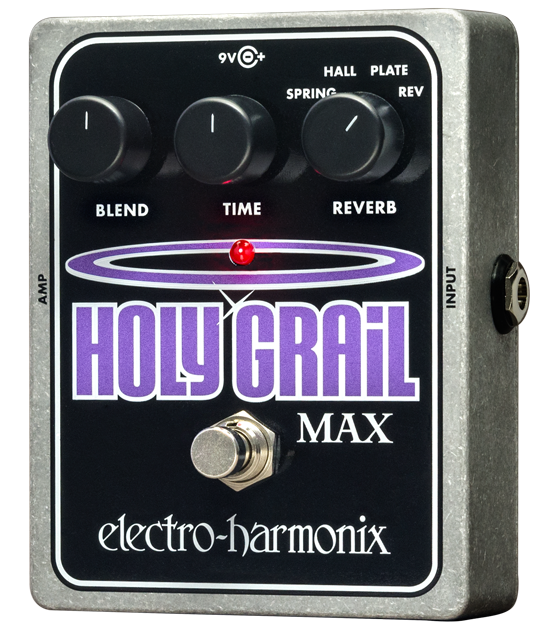EHX Electro-Harmonix Holy Grail Max Reverb Guitar Effects Pedal