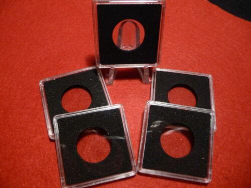 QUADRUM : SQUARE COIN CAPSULE SYSTEM  24mm CND QUARTERS #2 pkg of 5