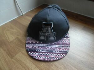 dfa4ef3d1 Details about Mens Topman American Freshman Maroon and Grey Baseball Cap -  one size