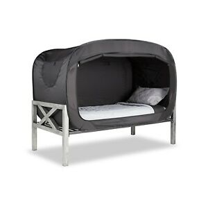 Privacy Pop Bed Tent Twin Xl In Black Ebay