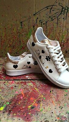 Schuhe Adidas Stan Smith Personalisierte mit Snoopy   eBay